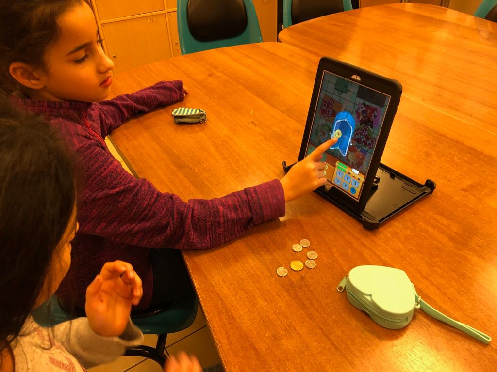 Playing Toca Store with real coins