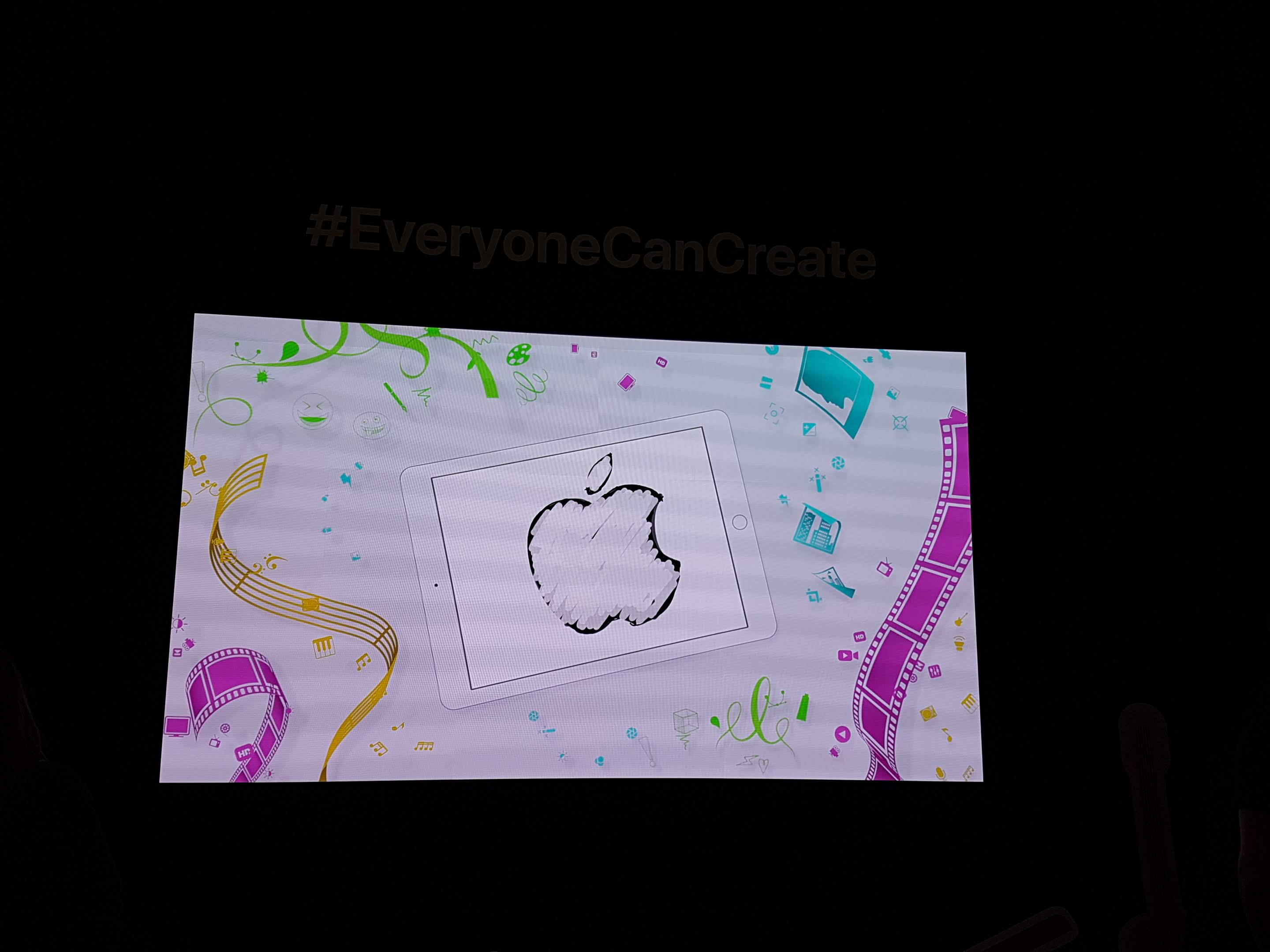 "Have you heard of Apple's creativity packs ""Everyone can Create""?"