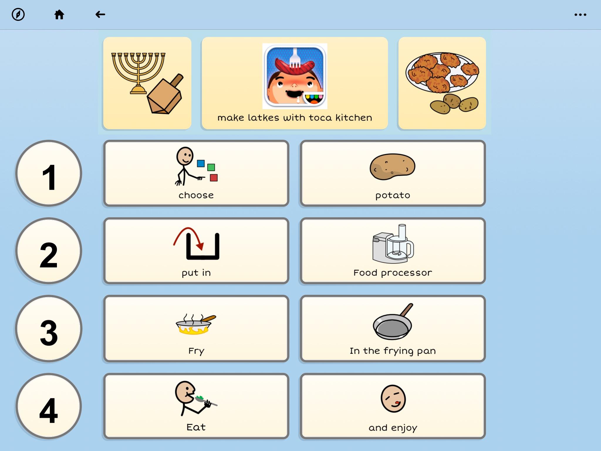 screenshot of recipe in GRID3