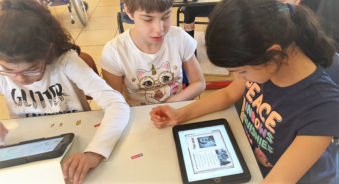ילדים לומדים על אנה פרנק